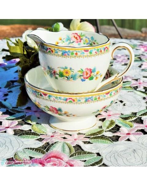 FOLEY MING ROSE TEA SET