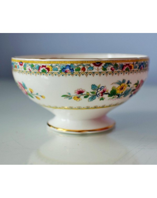 (OUT OF STOCK) FOLEY MING ROSE SUGAR BOWL