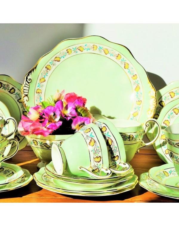 (SOLD) FOLEY VINTAGE TEA SET