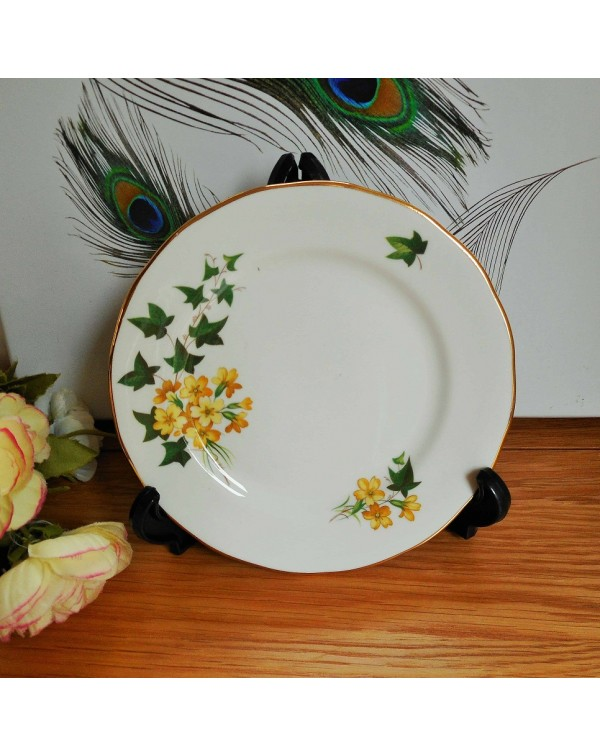 (OUT OF STOCK) GAINSBOROUGH HONEYSUCKLE TEA PLATE