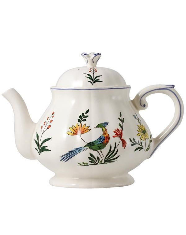 (OUT OF STOCK) GIEN BIRD OF PARADISE TEAPOT 2.5 PI...