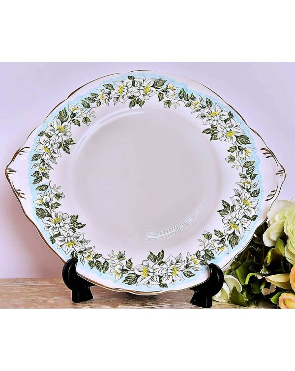 (OUT OF STOCK) GLADSTONE ROSEMOUNT CAKE PLATE