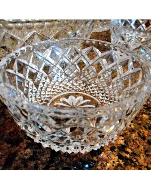 (SOLD) GLASS DESERT BOWL SET