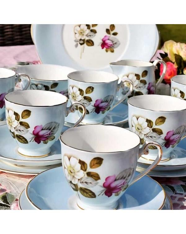 (SOLD) ROYAL GRAFTON DAYBREAK TEA SET