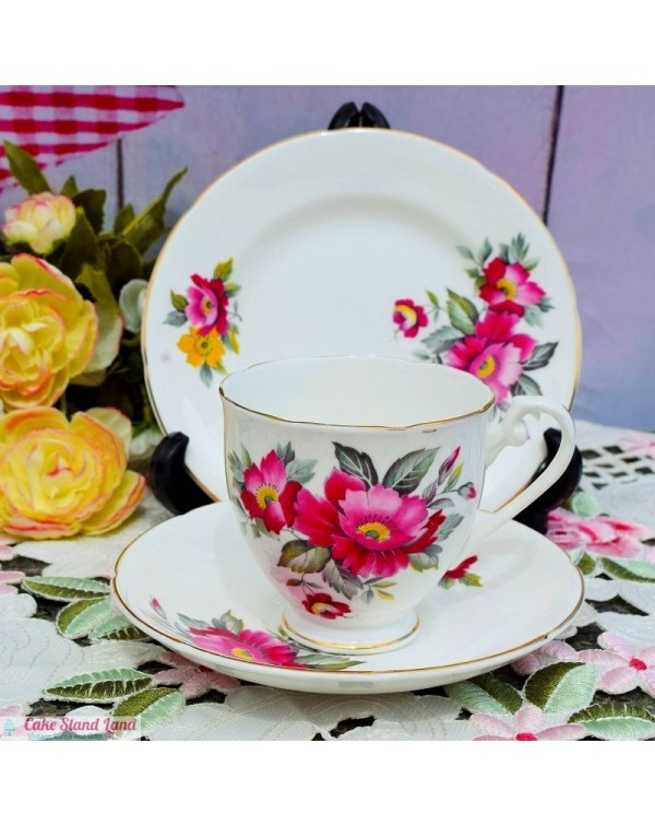 (OUT OF STOCK) ROYAL GRAFTON ROSES TEA TRIO