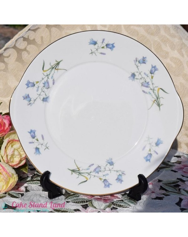 (OUT OF STOCK) ROYAL GRAFTON HAREBELL CAKE PLATE