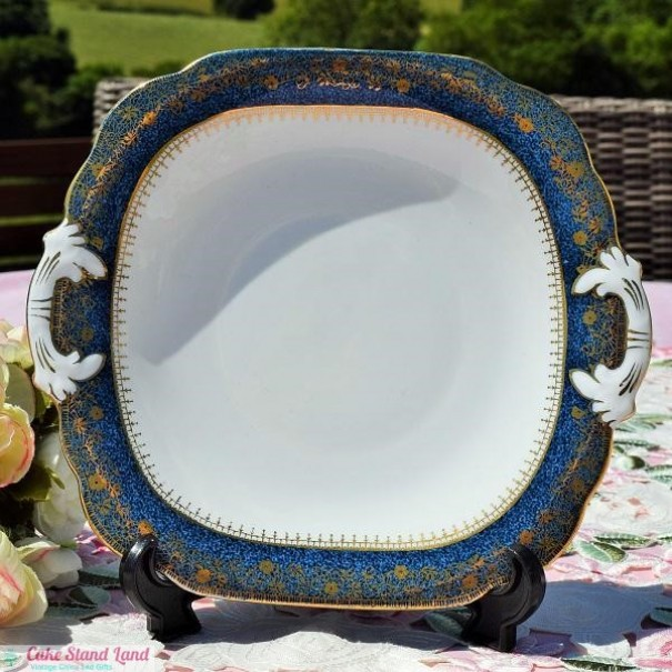(OUT OF STOCK) GROSVENOR CHINA CAKE PLATE