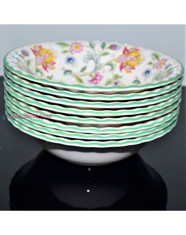 (SOLD) MINTON HADDON HALL CEREAL BOWLS