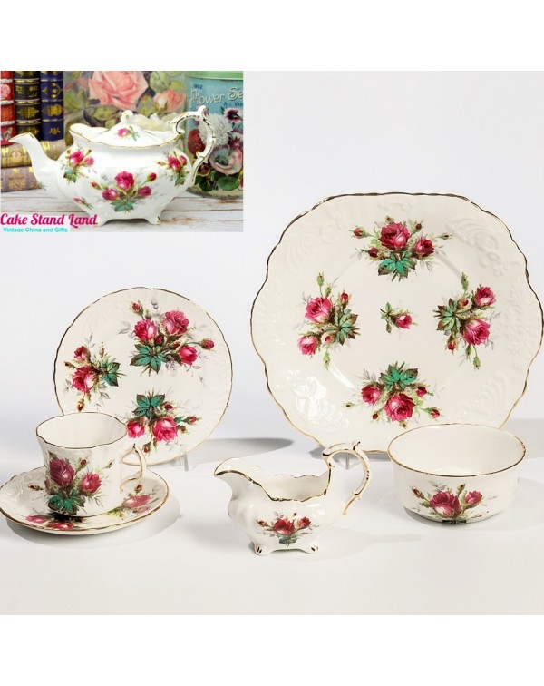 (OUT OF STOCK) SPODE HAMMERSLEY GRANDMOTHER'S ROSE...