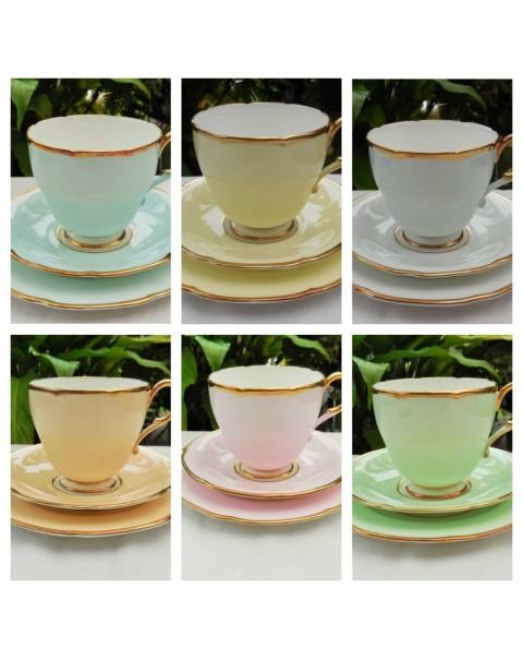 (SOLD) PARAGON HARLEQUIN TEA SET