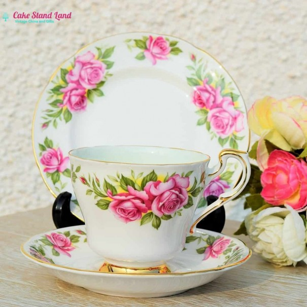 (OUT OF STOCK) HARRY WHEATCROFT TEA TRIO PERCY THROWER