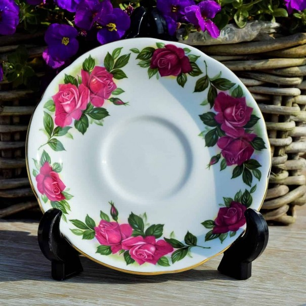 HARRY WHEATCROFT WENDY CUSSONS SAUCER