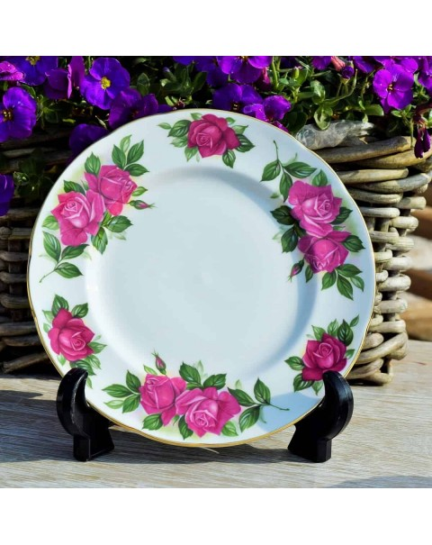 (OUT OF STOCK) HARRY WHEATCROFT TEA TRIO WENDY CUSSONS TEA PLATE