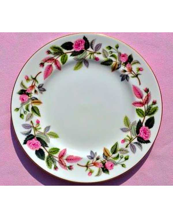 (OUT OF STOCK) WEDGWOOD HATHAWAY ROSE TEA PLATE