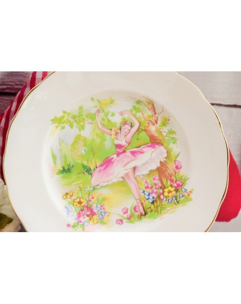 (OUT OF STOCK) IMPERIAL BALLET TEA PLATE