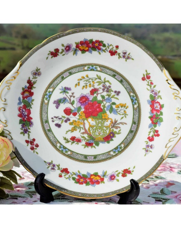 (SOLD) PARAGON TREE OF KASHMIR CAKE PLATE