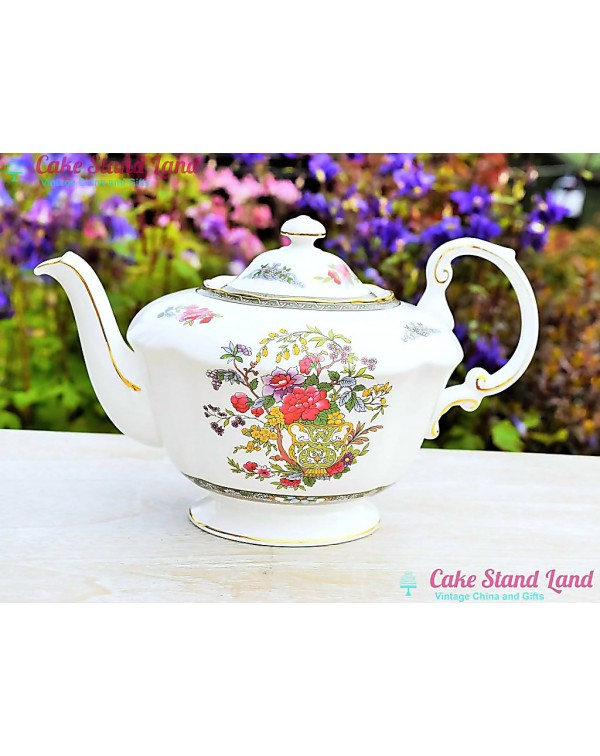 (OUT OF STOCK) PARAGON TREE OF KASHMIR TEAPOT