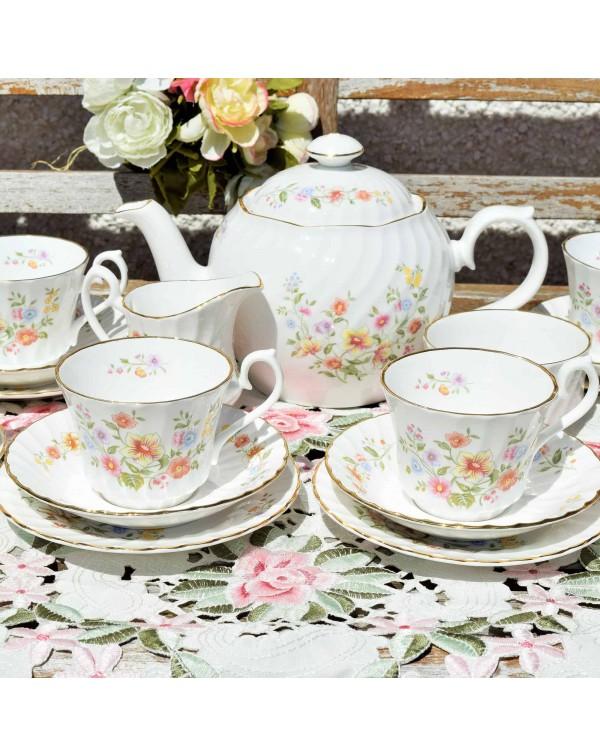 ROYAL KENDAL FLORAL TEA SET