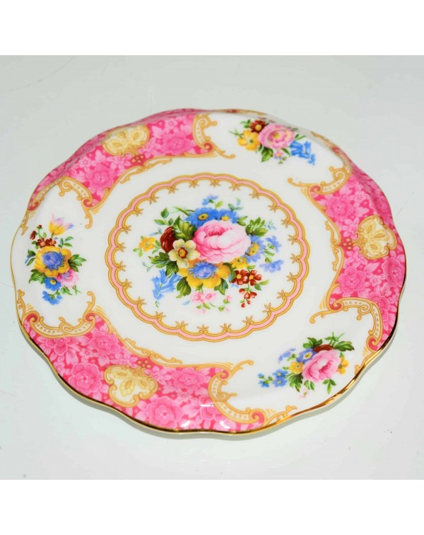 (SOLD) ROYAL ALBERT LADY CARLYLE TEAPOT STAND