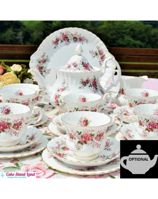 (Coming soon) ROYAL ALBERT LAVENDER ROSE TEA SET