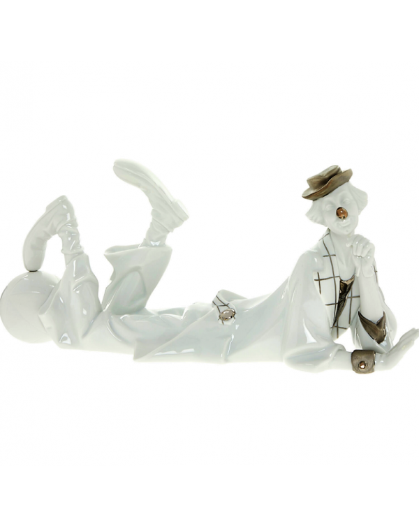 (SOLD) LLADRO WHITE CLOWN NEW BOXED