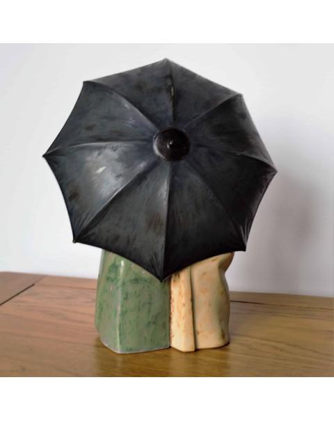 (SOLD) LLADRO UNDER THE RAIN