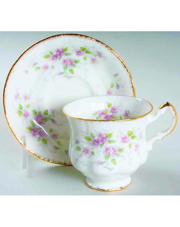(SOLD) PARAGON MALANDI TEA CUP AND SAUCER