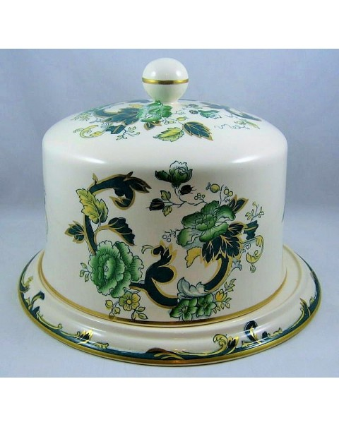 (OUT OF STOCK) MASONS GREEN CHARTREUSE STILTON DOME