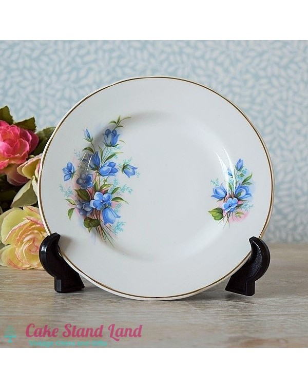 MAYFAIR TEA BLUE FLORAL TEA PLATE