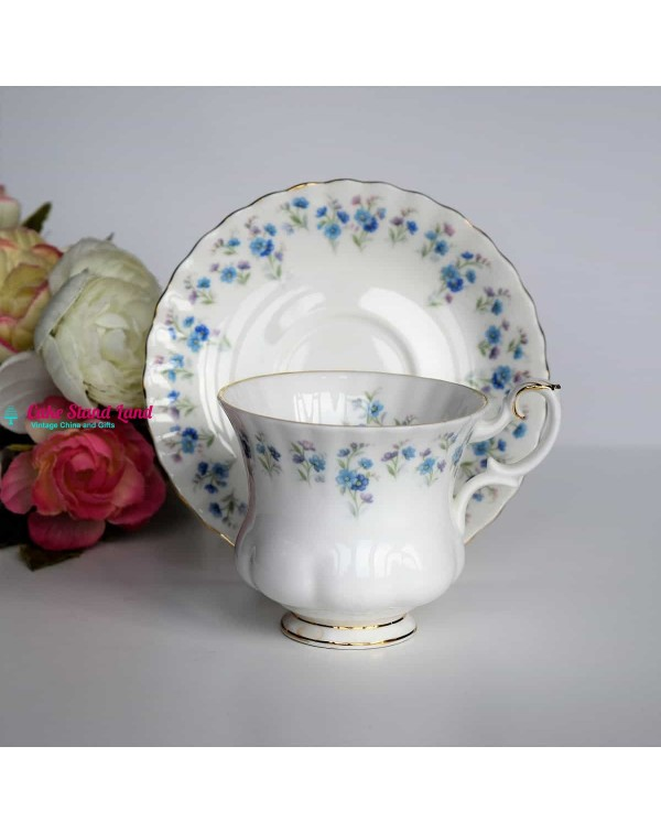 ROYAL ALBERT MEMORY LANE COFFEE DUO