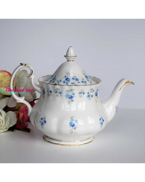 ROYAL ALBERT MEMORY LANE  ONE CUP TEAPOT