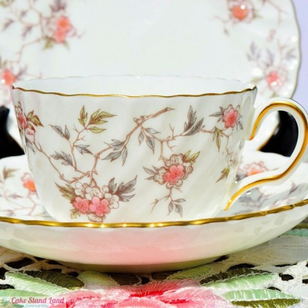 (OUT OF STOCK) MINTON SUZANNE TEA TRIO