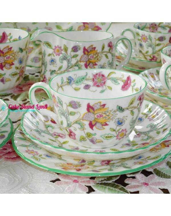 MINTON HADDON HALL TEA TRIO