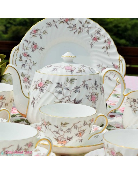 (OUT OF STOCK) MINTON SUZANNE TEA SET WITH TEAPOT