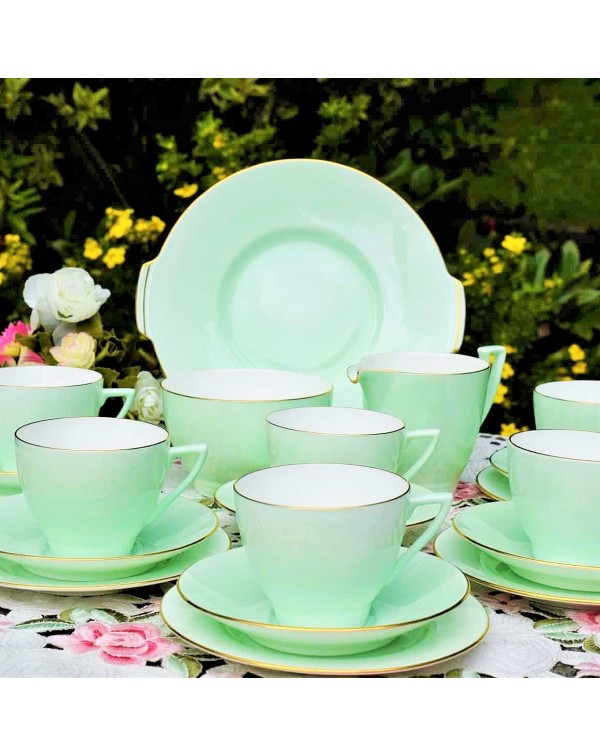 (SOLD) MINTON ART DECO TEA SET
