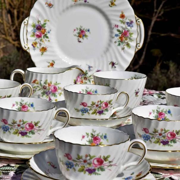(SOLD) MINTON MARLOW TEA SET