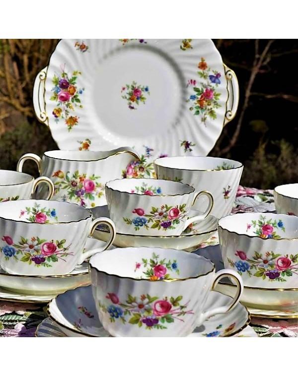 (SOLD)MINTON MARLOW TEA SET
