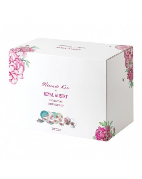 (OUT OF STOCK) ROYAL ALBERT MIRANDA KERR FRIENDSHIP TEA SET