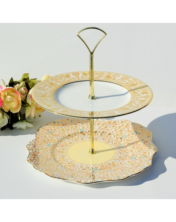 MISMATCHED CAKE STAND MANDY