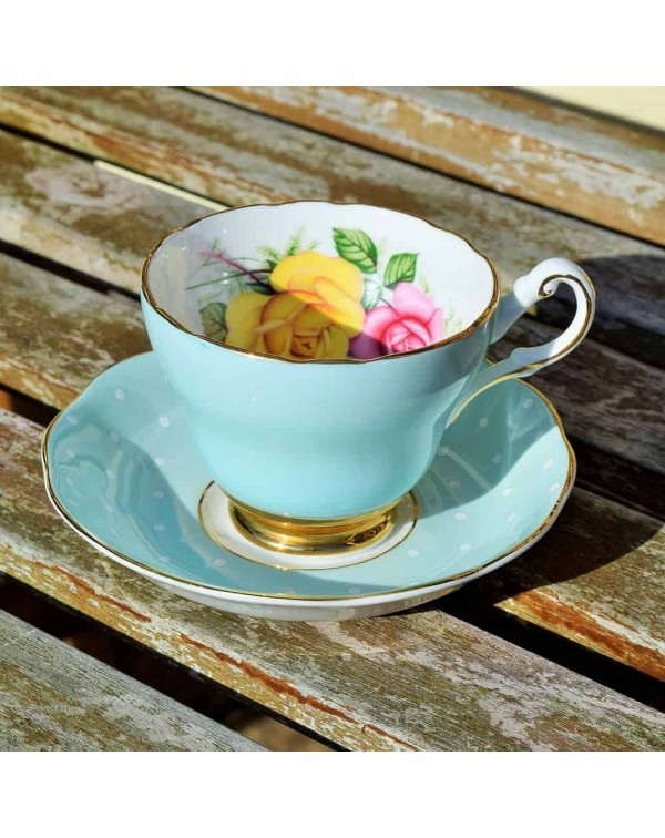 (OUT OF STOCK) MISMATCHED CUP & SAUCER