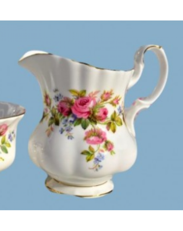 (OUT OF STOCK) ROYAL ALBERT MOSS ROSE MILK JUG