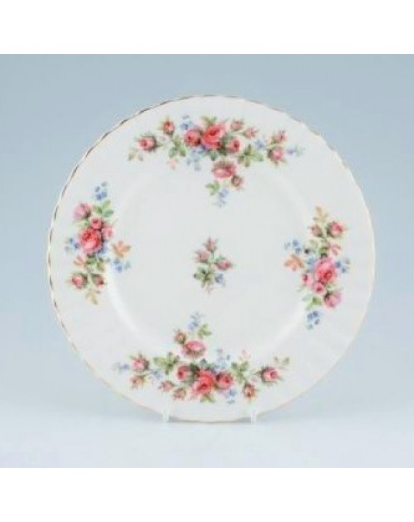 (SOLD) ROYAL ALBERT MOSS ROSE SALAD PLATE 20 cm