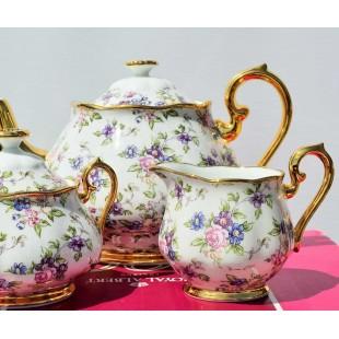 Royal Albert Chintz teapot set New Boxed
