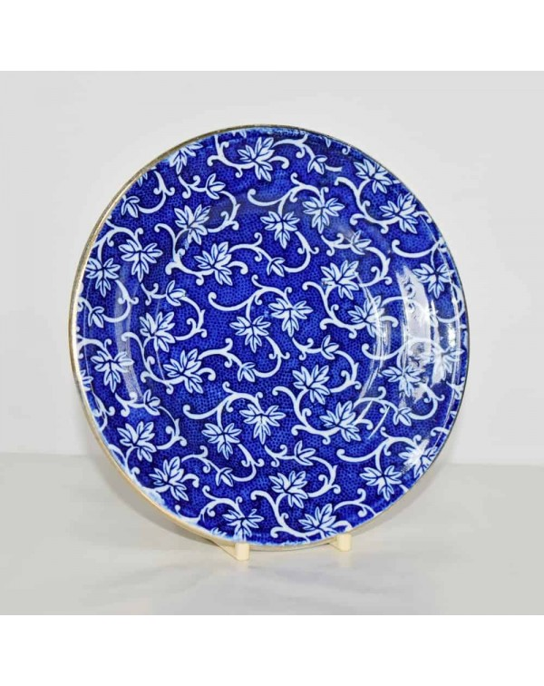 BLUE AND WHITE TEA PLATE