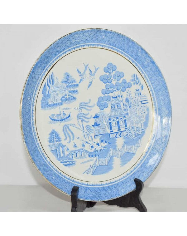 WILLOW PATTERN PLATE 26 CM