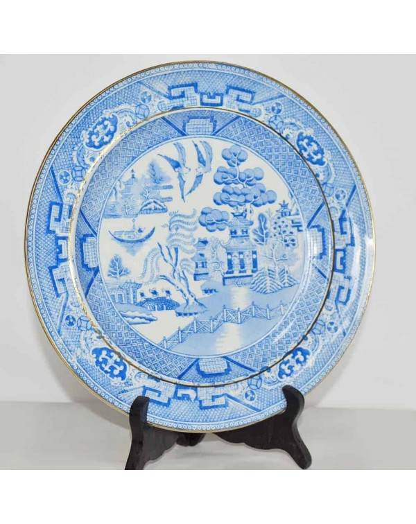 WILLOW PATTERN PLATE 24 CM