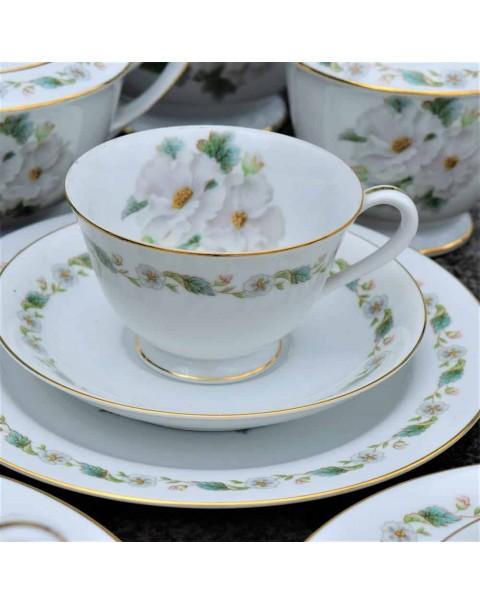 (SOLD) NORITAKE CAMELLIA TEA SET