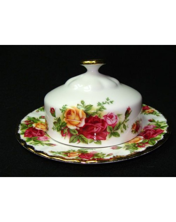 (OUT OF STOCK) OLD COUNTRY ROSES LIDDED BUTTER DIS...