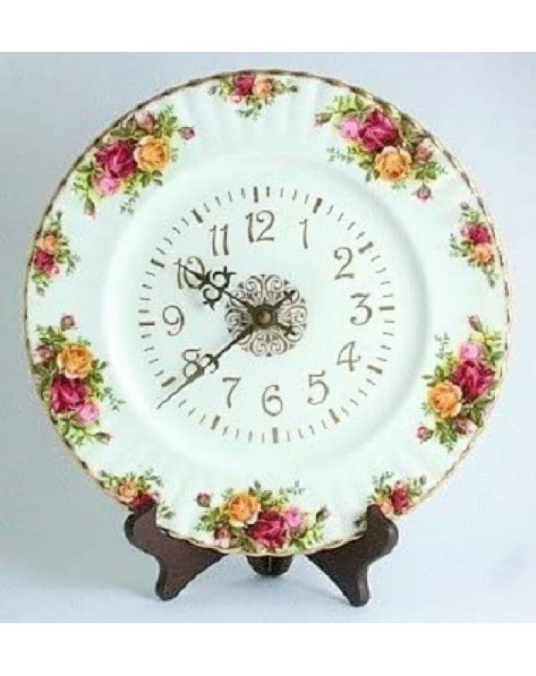 (SOLD) OLD COUNTRY ROSES CLOCK