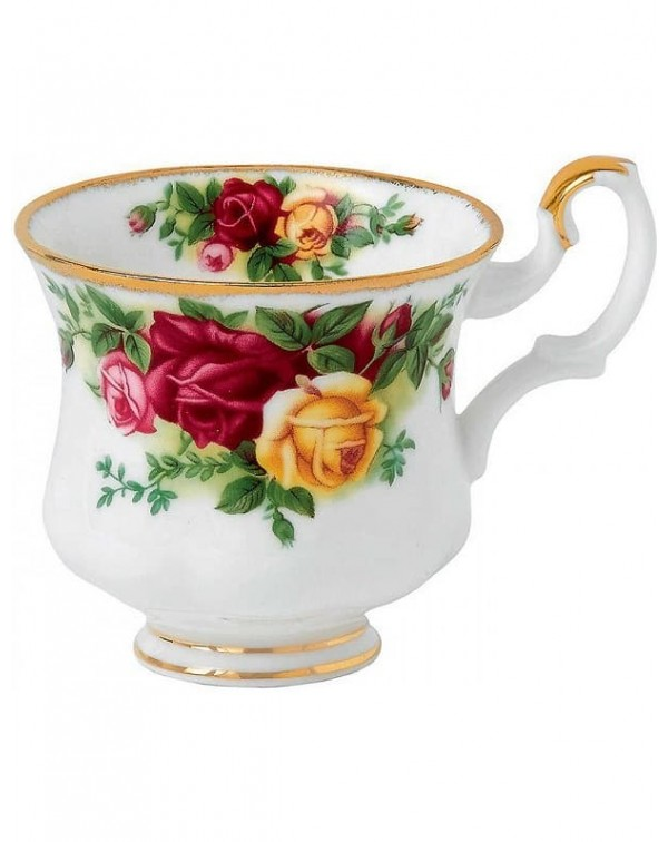 ROYAL ALBERT OLD COUNTRY ROSES COFFEE CUP